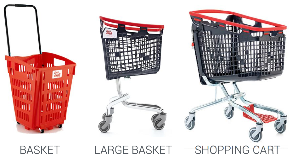 Examples of Shopping Tools from our partner Araven