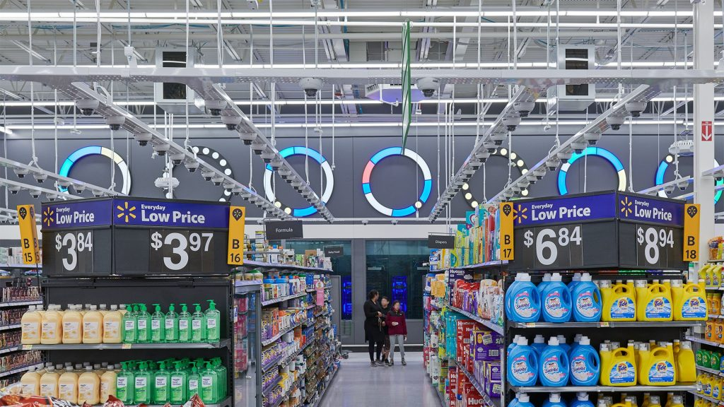 Deployment of hundreds of cameras in a Walmart store to achieve a rich and full in-store journey tracking system - via Walmart (Intelligent Retail Lab)